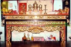 Án gian hiện đại sơn son thếp vàng Ms-AG64
