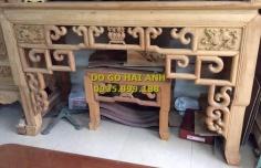 Ban thờ gỗ gụ cao cấp giá rẻ