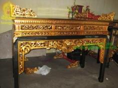 Án gian thờ đẹp bằng gỗ