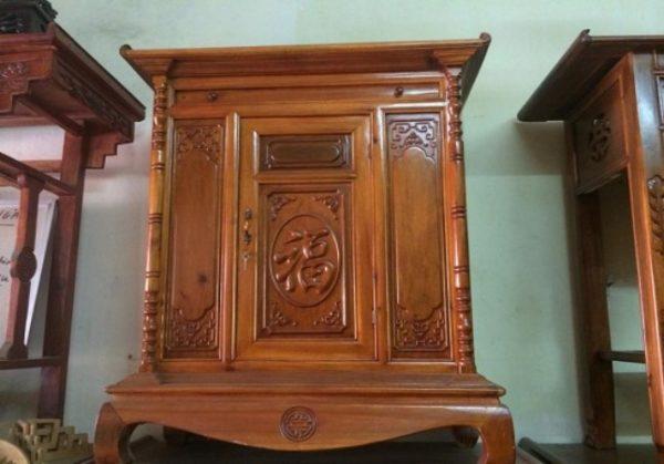 tủ thờ gỗ công nghiệp cao cấp