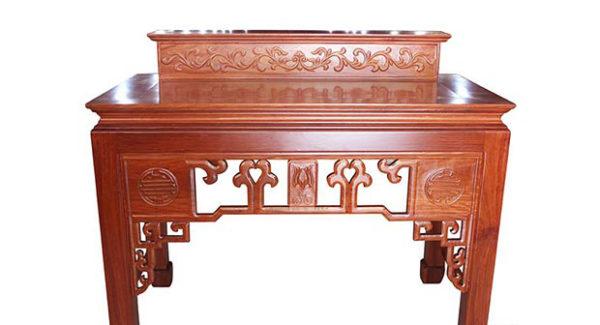 bàn thờ gỗ công nghiệp hợp phong thủy