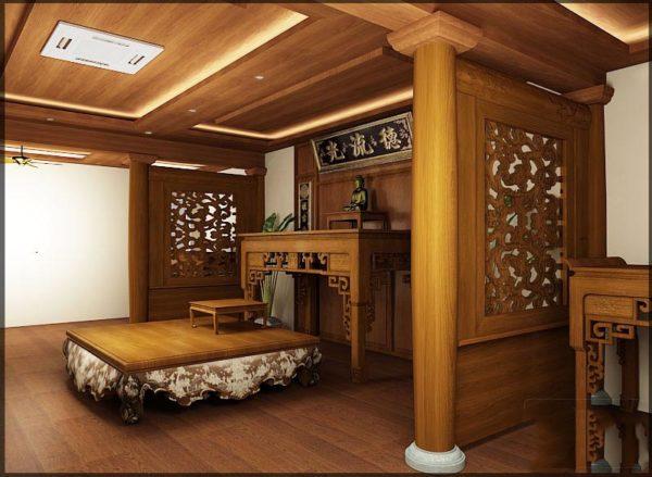 phân phối tủ gỗ thờ, tư vấn hướng dẫn làm tủ thờ đẹp