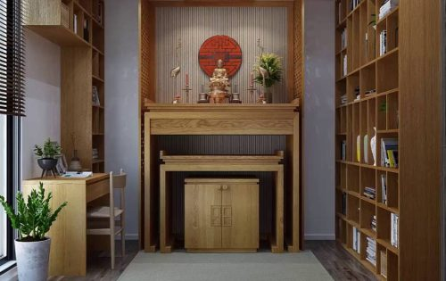 tủ thờ đẹp giá rẻ cho chung cư